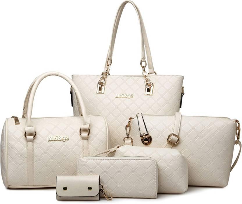 ecf468b782bb Buy Mei ge Shoulder Bag Beige1 Online   Best Price in India ...