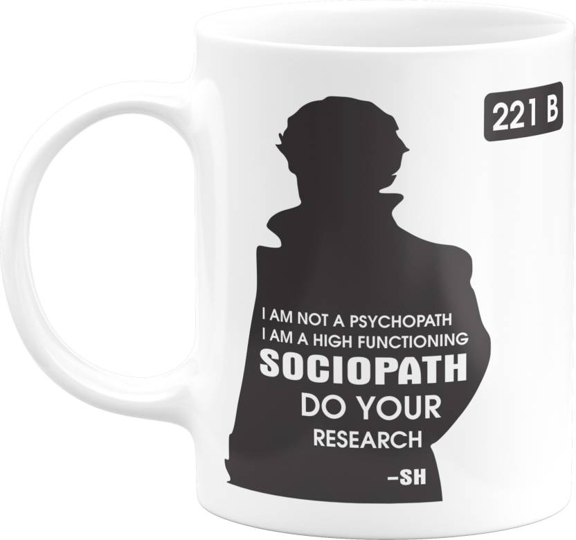 Eagletail India Holmes Gifts – Not a Psychopath | High