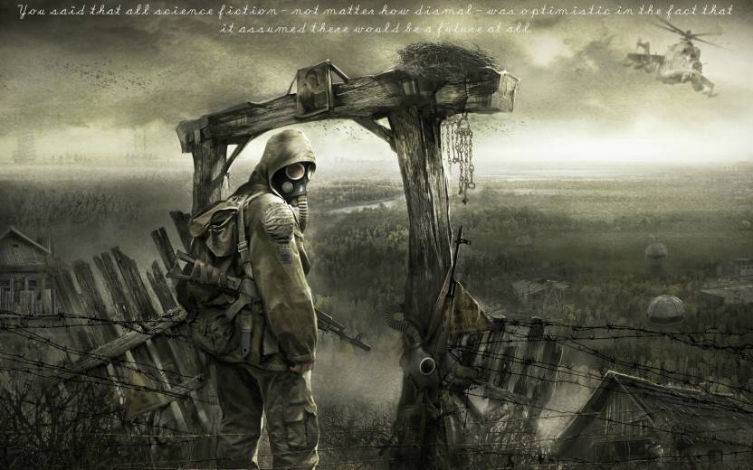 Athah Awesome STALKER : Shadow Of Chernobyl Wall Poster 13*19 inches