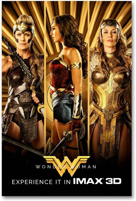 Hollywood Movie Wall Poster Wonder Woman Hd Quality Movie Poster