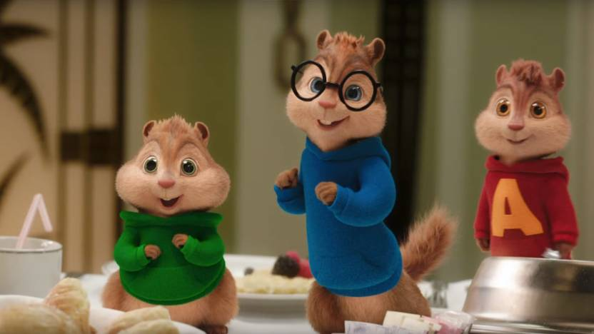 theodore alvin and the chipmunks with glasses