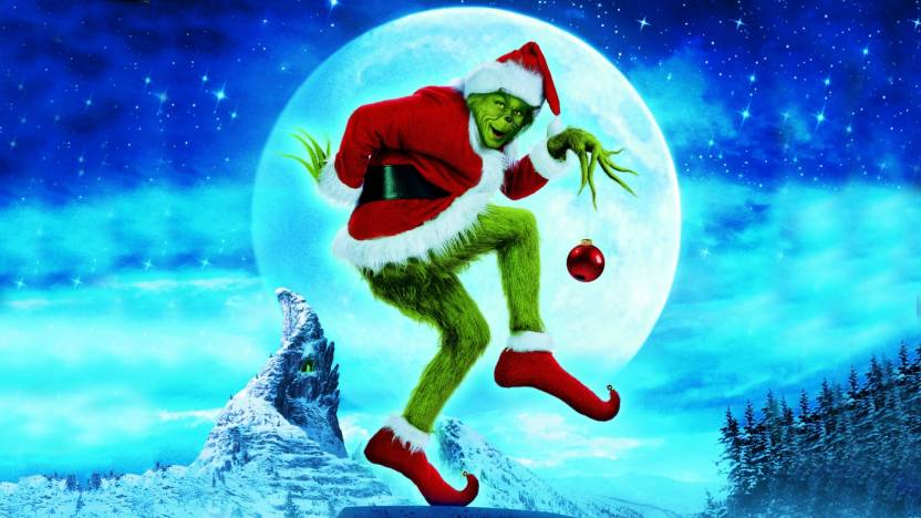 How The Grinch Stole Christmas Movie Poster.Athah 220 Gsm Paper Wall Poster 13 19 Inches How The Grinch