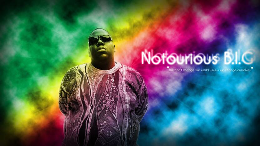 Athah Biggie Smalls The Notorious B I G Music Wall Poster