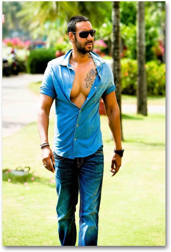 Bollywood Actors Wall Poster Ajay Devgan Golmaal 3 Movie Hd
