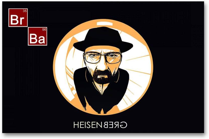 Breaking Bad Wall Poster - Heisenberg - Fan Art - HD Quality