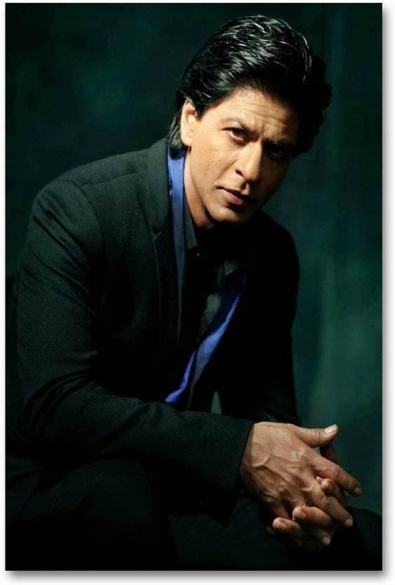 Bollywood Actors Wall Poster Shah Rukh Khan King Of Bollywood