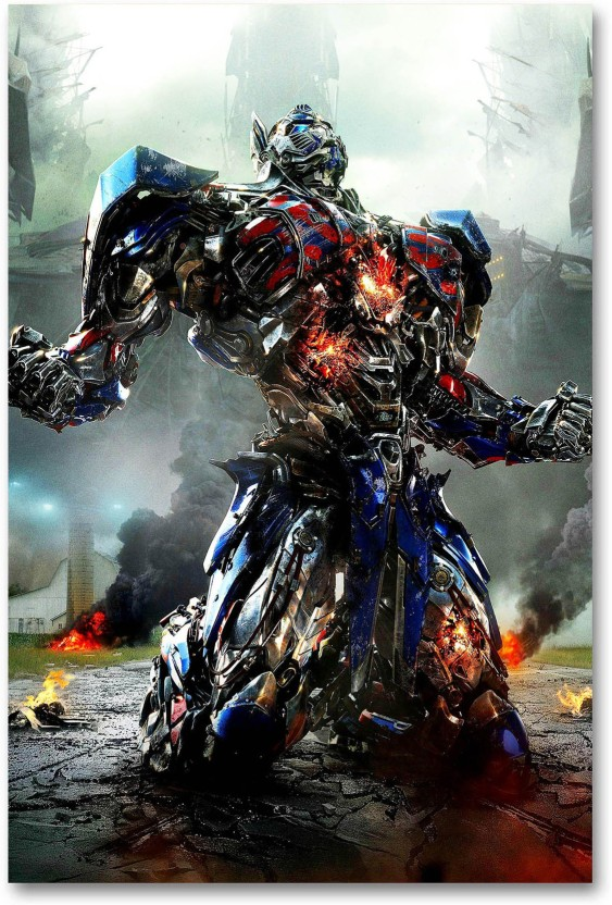 Movie Poster Promo Transformers The Last Knight Optimus Prime