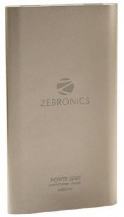 Zebronics 4000 Power Bank Zeb 4000mh Slim Price In India Buy