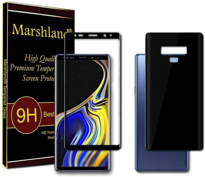 Marshland Front and Back Screen Guard for Samsung Galaxy Note 9