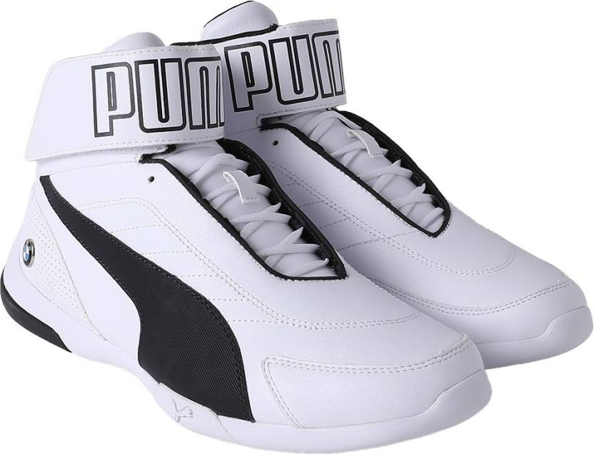 06a34ec939a Puma BMW MMS Kart Cat Mid III Sneakers For Men (White). Price  Not Available