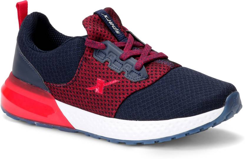 detailed images browse latest collections novel design Sparx Men SM-401 Navy Blue Red Training & Gym Shoes For Men