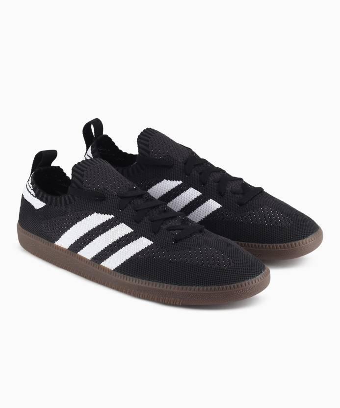 super popular abc64 109e7 ADIDAS ORIGINALS SAMBA PK SOCK Sneakers For Men (Black)