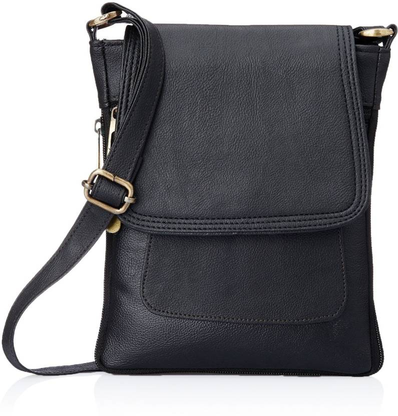 Thunder collection Women Casual Black PU, Rexine Sling Bag Black - Price in  India   Flipkart.com 0d1d906644