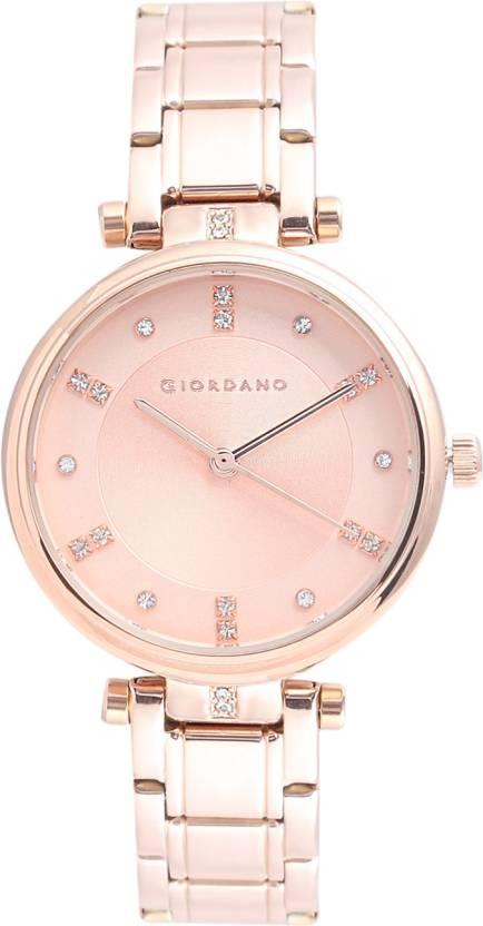 Giordano 2097-3 Ladies Blue Dial Bracelet Strap Watch Armbanduhren