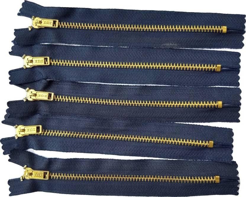 release date 7366f c0709 Balaji MDH Jeans chain Blue Metal Two Way Open-ended Zipper ...