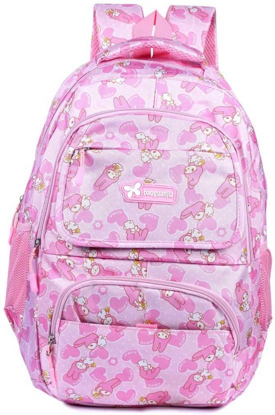 565795e40bce Online World Water Waterproof School Bag (Pink