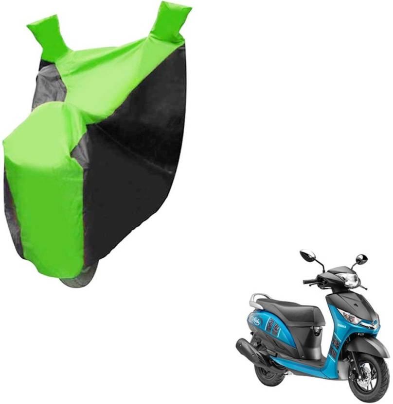 UNIGLOW Yamaha Alpha Split Bike Seat Cover For Yamaha Alpha