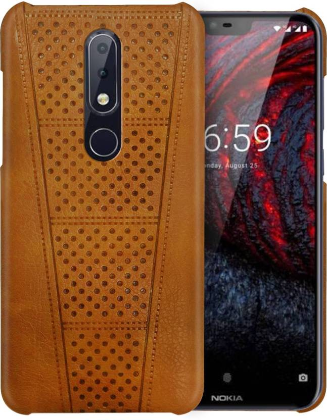 huge discount 717cf f0ad5 Knotyy Back Cover for Nokia 6.1 Plus
