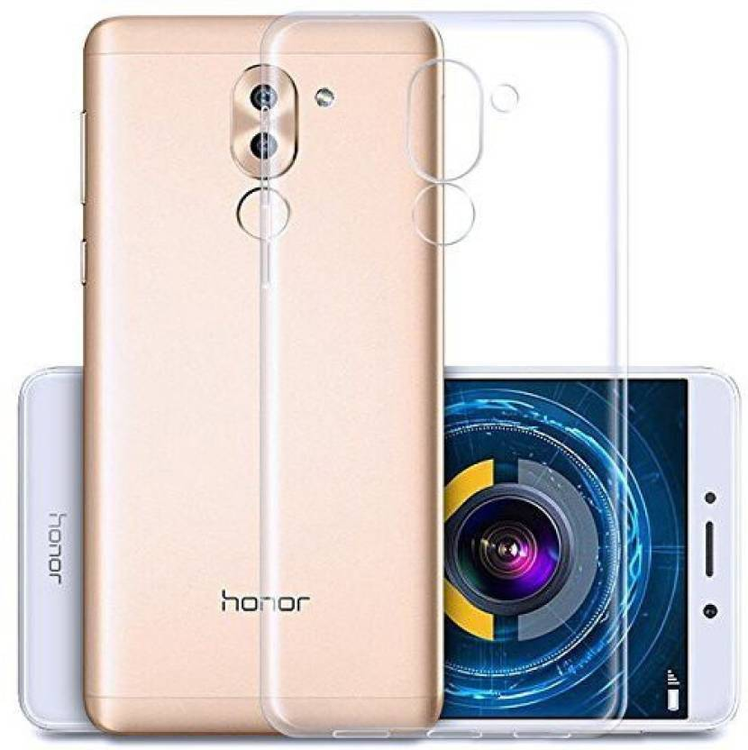 best loved b176b d5a30 Fashion Way Back Cover for HONOR 6X (Transparent Flexible Case ...