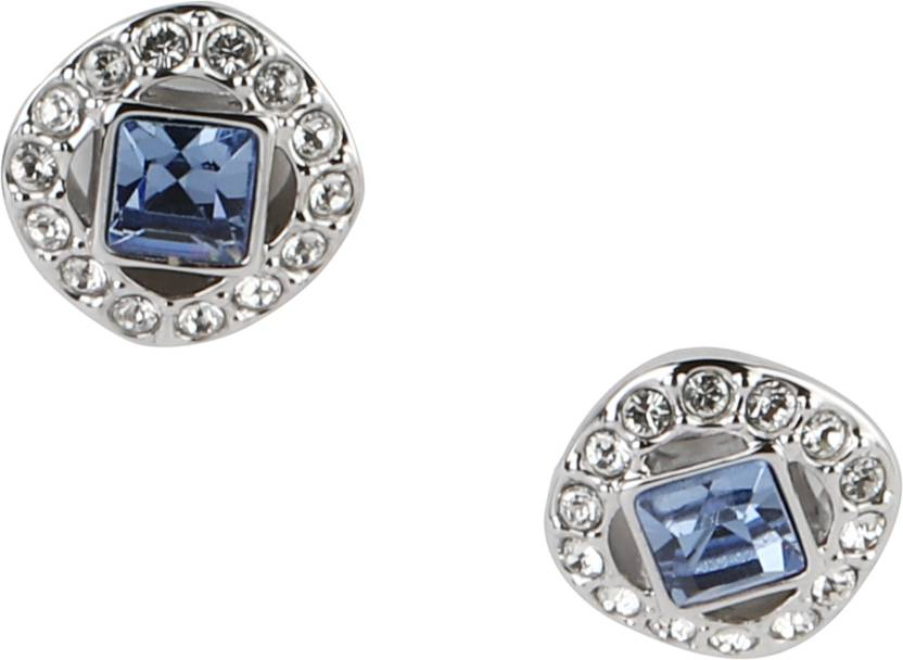 6c5b73065 Flipkart.com - Buy Swarovski 5352048, Angelic Square Pierced Earrings Metal  Earring Set Online at Best Prices in India