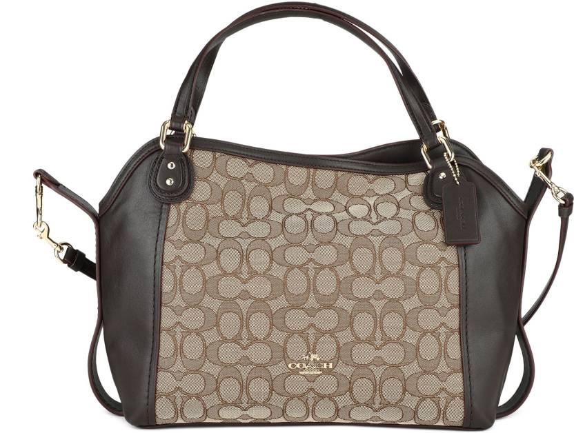 5996447aab2 Buy Coach Shoulder Bag Brown Online @ Best Price in India | Flipkart.com