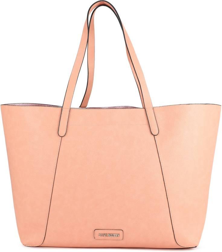 7151427cb4 Buy Steve Madden Tote BLUSH Online @ Best Price in India | Flipkart.com