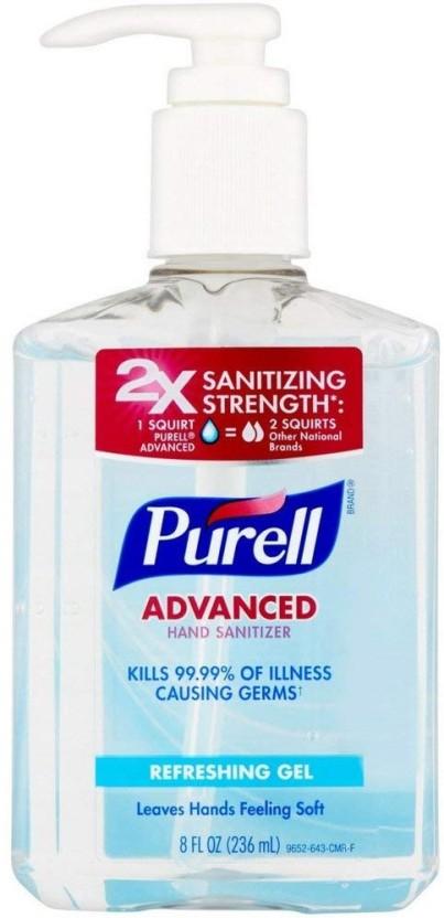 Purell Advanced Hand Sanitizer Refreshing Gel 8 Oz Price In