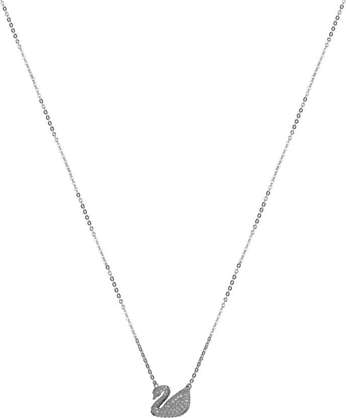 d1c05b4048c6 Swarovski Metal Necklace Price in India - Buy Swarovski Metal Necklace  Online at Best Prices in India
