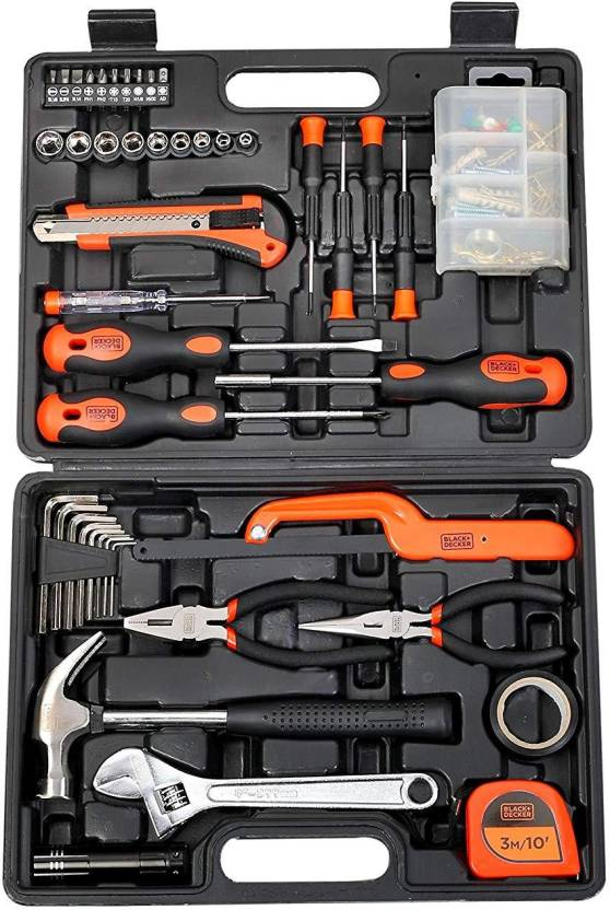 cdd12d695 Black   Decker BMT 126 Power   Hand Tool Kit Price in India - Buy ...