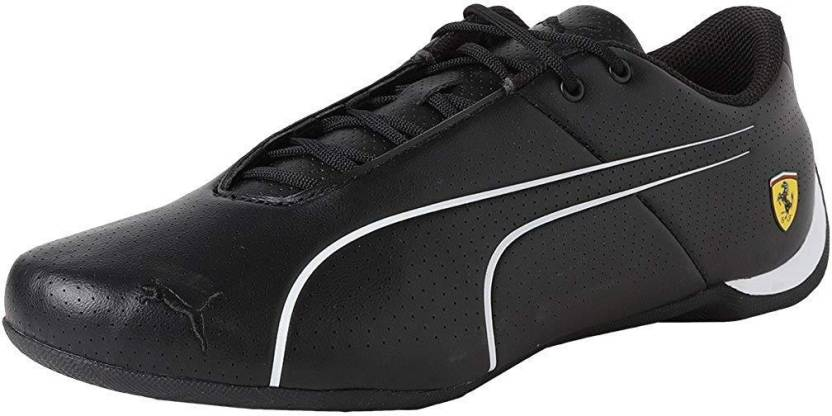 6e3d3681164 Puma Ferrari Future Cat Ultra Sneakers Motorsport Shoes For Men (Black)
