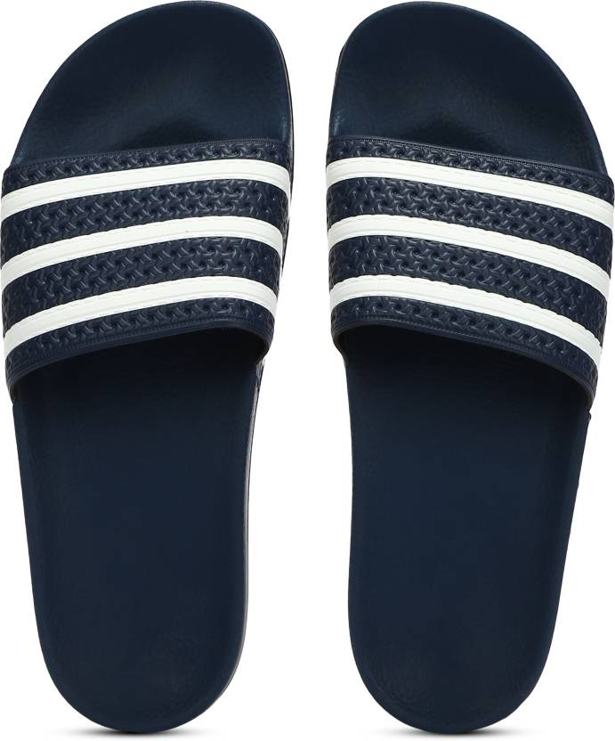 593c2bd928b7 ADIDAS ADILETTE Slides - Buy Blue Color ADIDAS ADILETTE Slides Online at  Best Price - Shop Online for Footwears in India