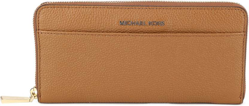 0511ae42f604 Michael Kors Women Casual Brown Genuine Leather Wallet ACORN - Price ...