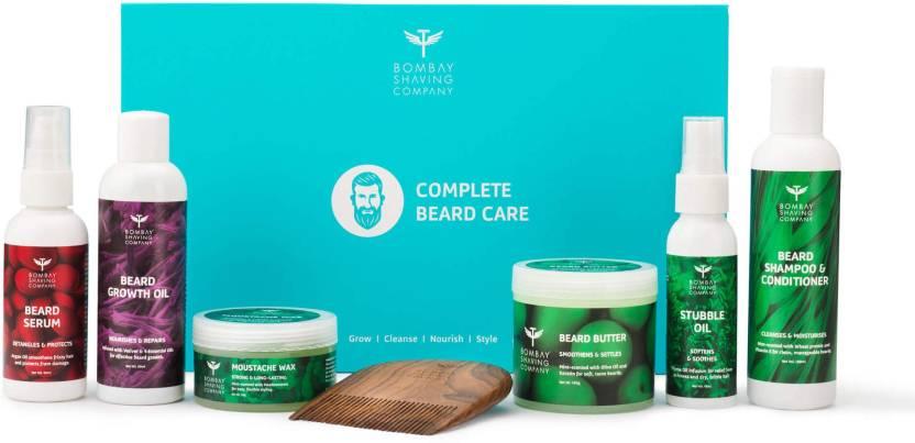 Bombay Shaving Company Complete Beard Care Kit (Mint-Scented