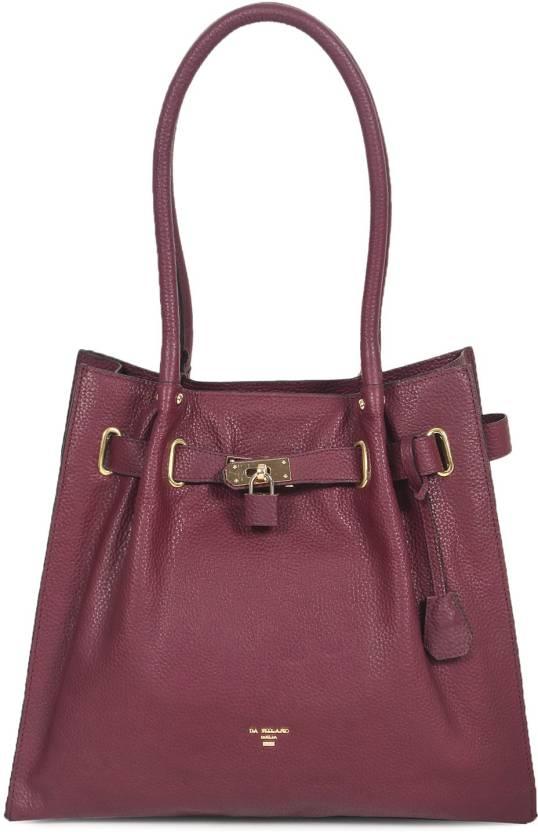 07c1655c171 Buy Da Milano Shoulder Bag BERRY Online   Best Price in India ...
