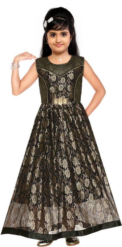 78d707ccd2 ARK Girls Maxi Full Length Party Dress Price in India - Buy ARK ...