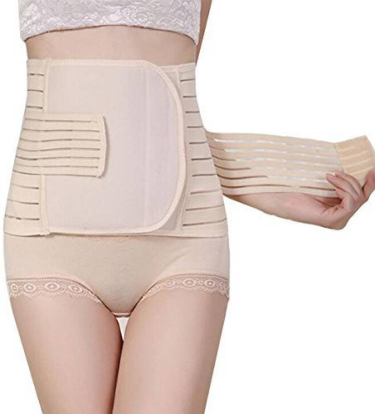 d9e88f5a1a CGT Postpartum Belly Band Pregnancy Belt Belly Belt Maternity Postpartum  Bandage Band for Pregnant Women Shapewear Reducer (Beige)