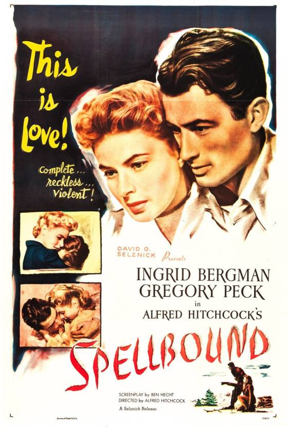 Alfred Hitchcock's Spellbound dvd region free Price in India