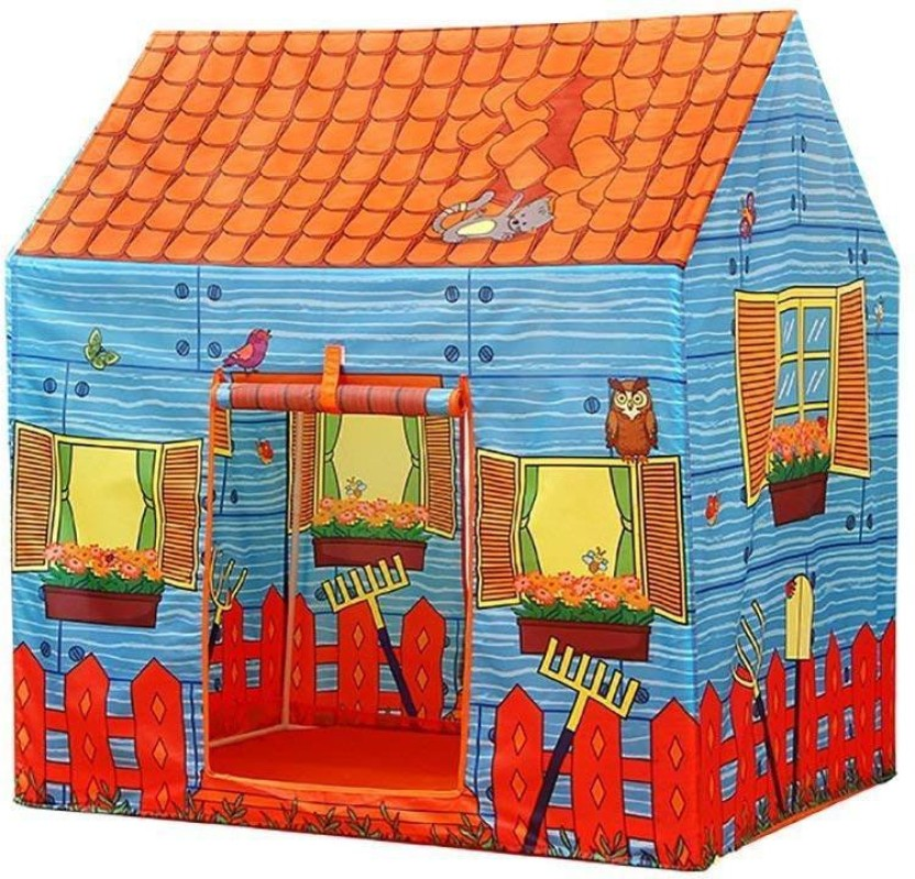 Kids Indoor Outdoor Play House Garden Camping Fire Truck Tent Hut Party Toy