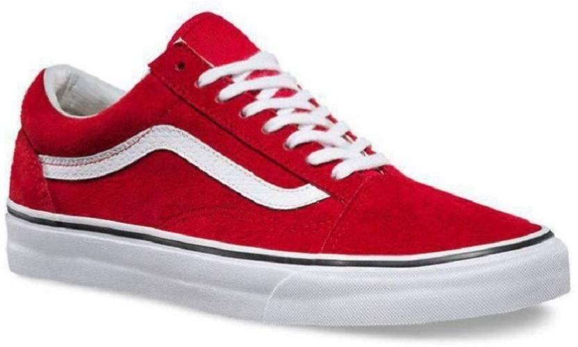 c9a38965d6 vans old skool Red Sneakers For Men - Buy vans old skool Red ...