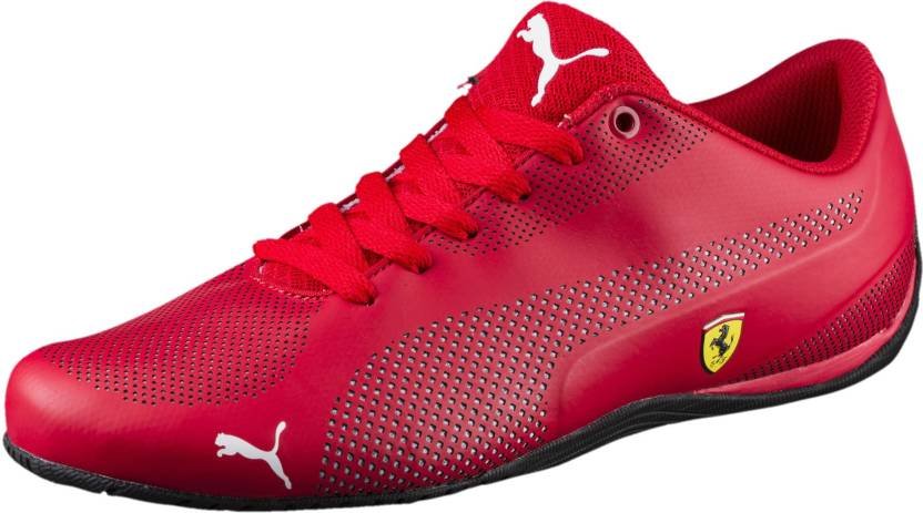 051879400fb4 Puma Ferrari Drift Cat 5 Ultra Sneakers Motorsport Shoes For Men (Red)