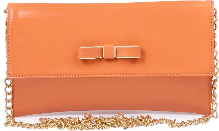 7edaff4fdf Women Marks Women Casual Orange PU Sling Bag ORANGE - Price in India