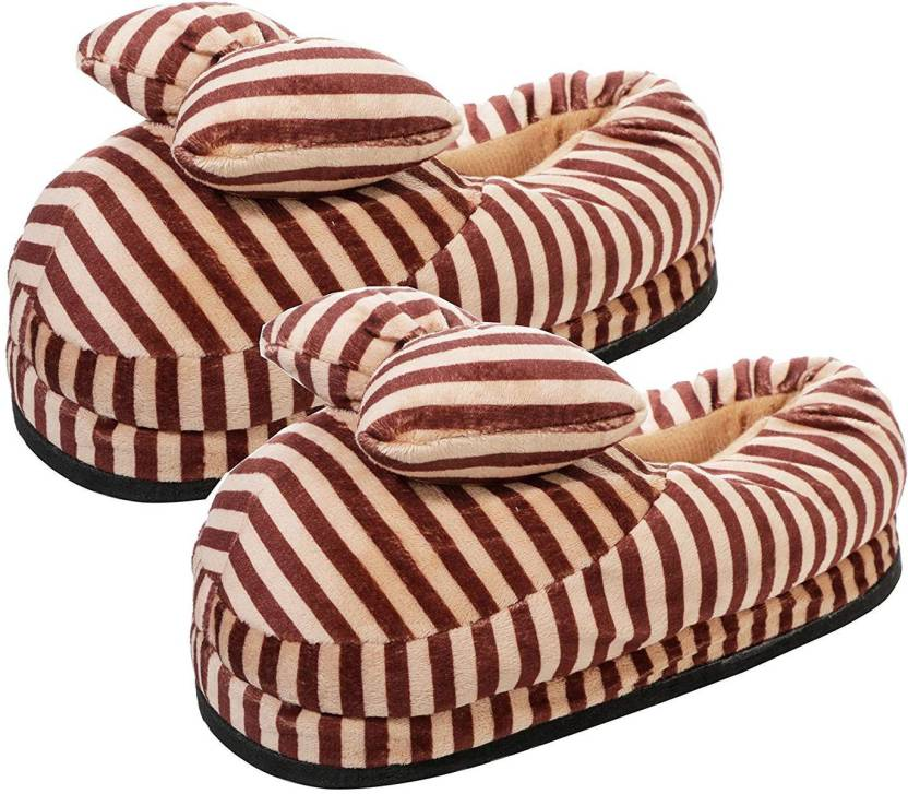 CASON Big Plush Soft Bedroom Slippers loafers Shoes Emoji ...