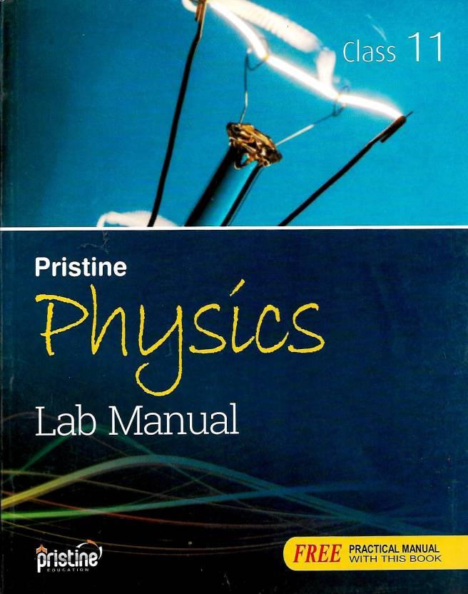 SRIJAN,PRISTINE PHYSICS LAB MANUAL CLASS - 11: Buy SRIJAN