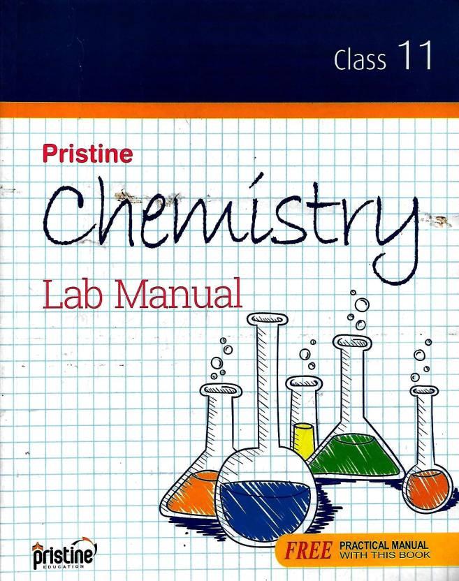 SRIJAN,PRISTINE CHEMISTRY LAB MANUAL CLASS - 11: Buy SRIJAN,PRISTINE