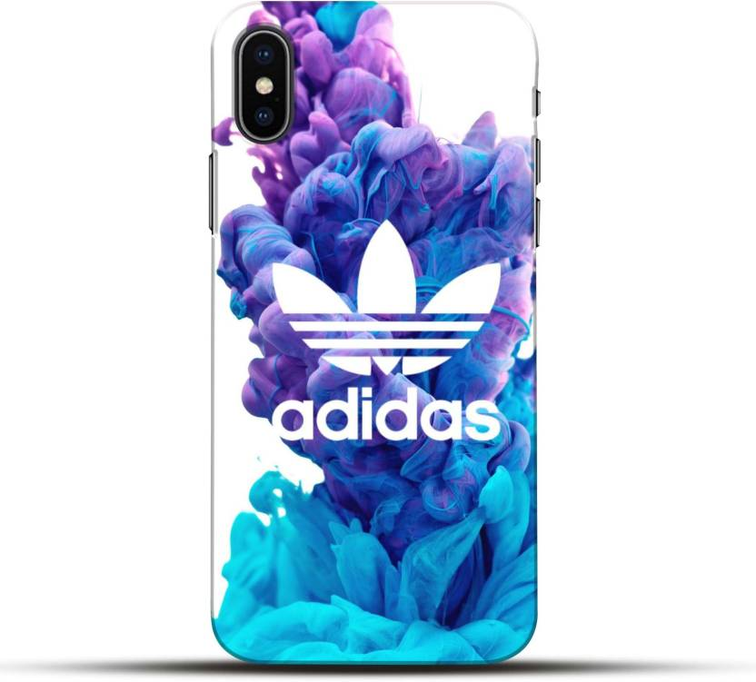 the latest b865f 5e643 Pikkme Back Cover for Adidas Brand Logo Apple Iphone X - Pikkme ...