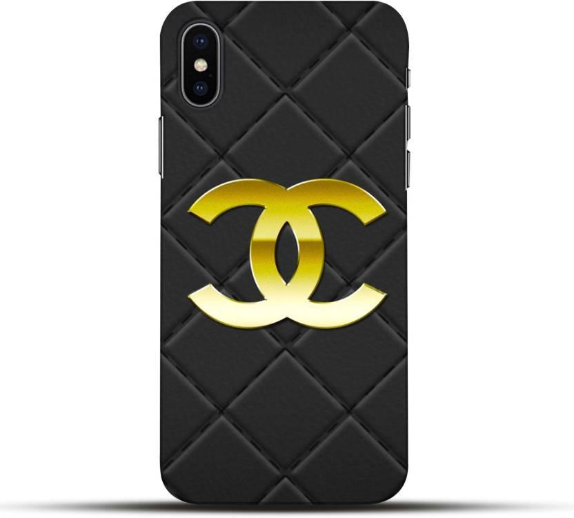 online store b30f2 f8161 Pikkme Back Cover for Chanel Apple Iphone X - Pikkme : Flipkart.com