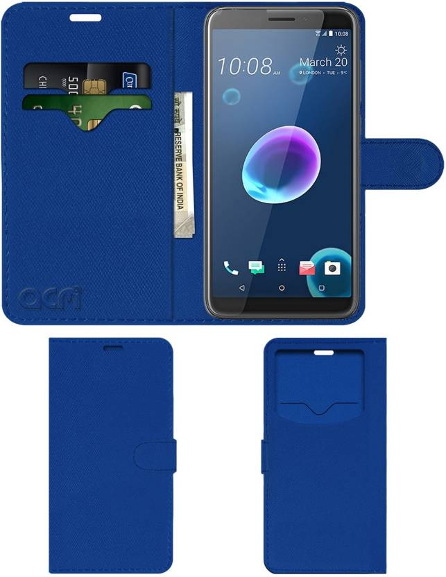 best service 3bc69 9249c ACM Flip Cover for Htc Desire 12 - ACM : Flipkart.com