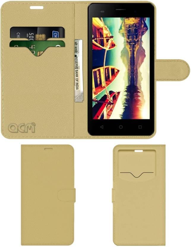 promo code 3b761 5d415 ACM Flip Cover for Micromax Bolt Supreme 4 Q352 - ACM : Flipkart.com