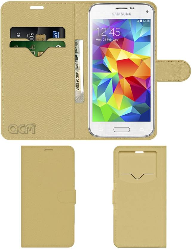 info for 4aea0 fe76f ACM Flip Cover for Samsung Galaxy S5 Mini - ACM : Flipkart.com