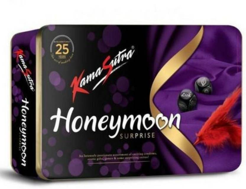 f450ee18b KamaSutra Honeymoon Surprise Pack Multi Combo (Concealed/Confidential  Packaging) Condom (26S). Be the first to ...